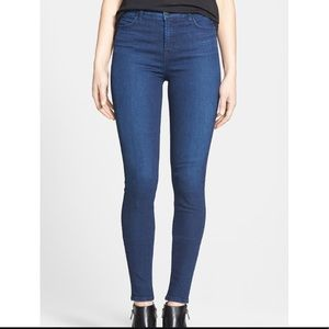 J Brand Maria High Rise Skinny in Supreme wash